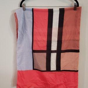 NWT Ann Taylor multi color scarf